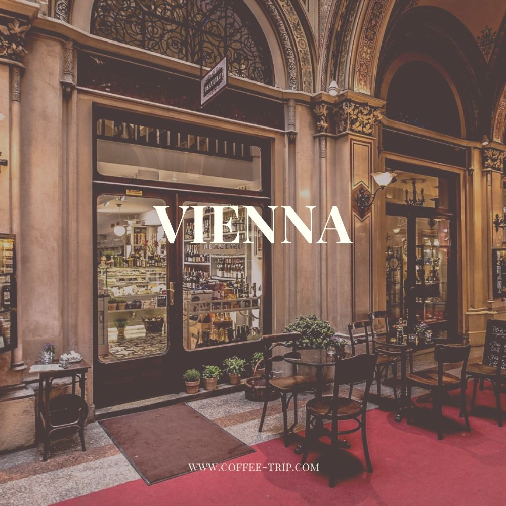 Vienna best spots for a coffee break